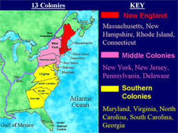 Colonies Map on